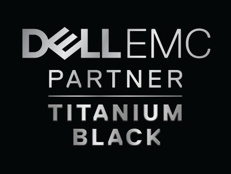 Dell EMC Titanium black partner