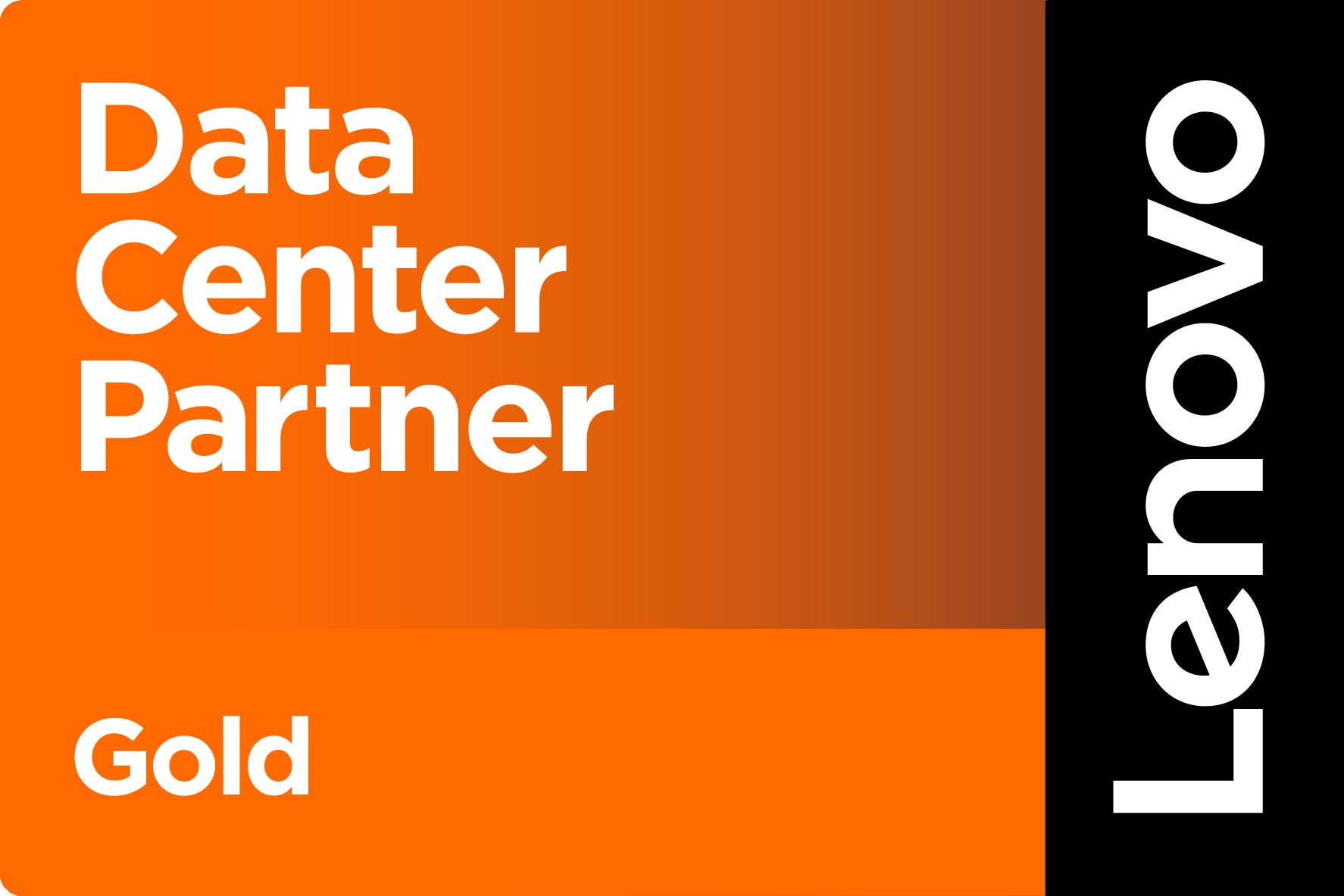 Lenovo Gold Data Center Partner