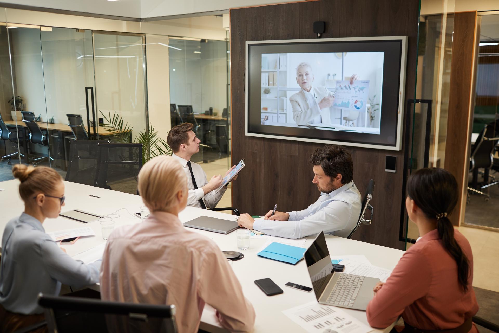 Audiovisuele oplossingen voor organisaties